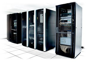Server colocation service and equipment placement