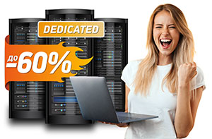 Discounts on dedicated servers